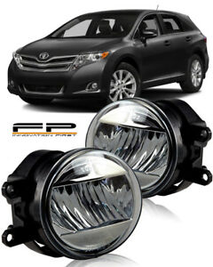 2009-2015 Toyota Venza LED Clear Lens Replacement Fog Light Housing Assembly