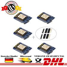 5x NodeMcu Lua D1-Mini ESP8266 ESP-12F WeMos WiFi Internet Module für Arduino