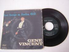EP 4 TITRES VINYLE 45 T , GENE VINCENT , BE BOP A LULA 62 . VG - / VG - .