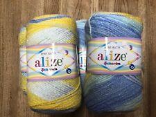 ALIZE BEBE BATIK DOUBLE KNITTING 5x100g Balls 100% Premier Acrylic Yarn 6925