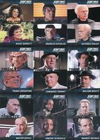 Star Trek TNG Complete Series 1 Tribute Chase Card Set T1 thru T18 Cards