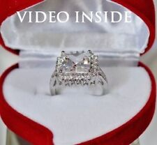 Princess Engagement Yellow Gold Excellent Fine Diamond Rings
