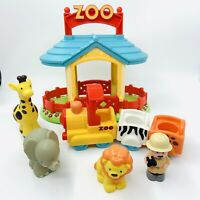 ELC Happyland Zoo, Animals And Train Pretend Play Kids Toys Free P&P