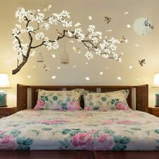 Tree Wall Stickers Birds Flower Home Decor Wallpapers for Living Room Bedroom