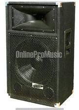 Patron Pro Audio PSS-1700 Single 15In 2 Way Speaker 1700W Max Peak w/ 1.34 Drivr