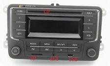 Original VW Radio RCD 210 2DIN with CD USB AUX SD for Golf Jetta Caddy Passat