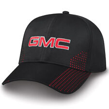 GMC Black Laser Perforated Polyester Hat