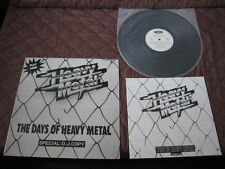 The Days of Heavy Metal Japan Promo only Vinyl LP Iron Maiden Michael Schenker