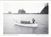 "*Postcard-""Quillayute River Lifesaving Crew"" @ Washington's Outer Coast- (A80-2)"