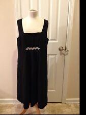 ANN TAYLOR LOFT MATERNITY Women's Black Dress Size 14m Rhinestones MSRP $104.00