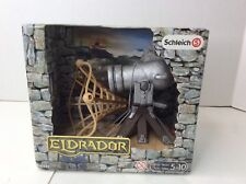 Schleich Eldrador Cannon 42222 Medieval Castle Knights Fantasy Play Weapon Fires