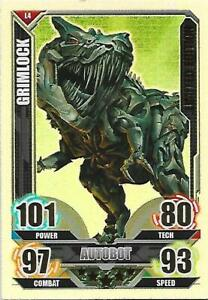 TRANSFORMERS Movie Limited Edition Card LE4 GRIMLOCK - TOPPS 2005