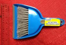 Cleaning Dust Pan & Brush by Scrub Buddies Whisk Broom Portable Set Sweep New