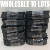 Lot of 10 Wholesale USB Type C Cable Samsung S10 A20 Charger Charging Cord Bulk