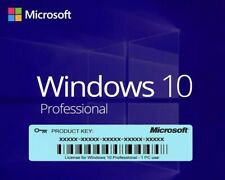 Microsoft Windows 10 Pro 32/64-Bit multilangue