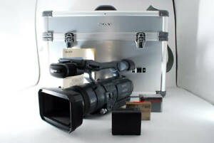 Sony Handycam HDR-FX1 Video Camera w/Case tested working good F/S