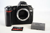 Nikon D70 6.1MP Digital SLR Camera Body with 256MB CF Card & Battery V11
