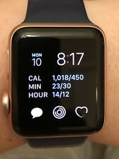 Apple Watch Series 2 38mm Rose Gold Aluminum Case With 2 Sport Bands