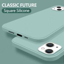 Phone Case For iPhone 13 Pro Max 12 11 XS XR 8 7 Plus Liquid Silicone Slim Cover