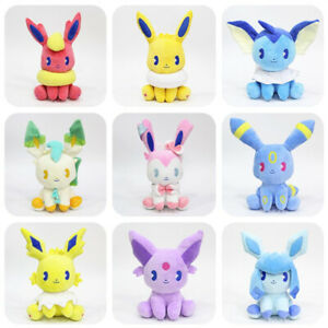 Set of Cute Eevee Umbreon Evolution Soft Plush Doll ~ Xmas Gift Brand New