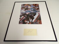 Bob Griese Signed Framed 16x20 Photo Display Dolphins