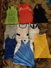 choice of 1 Nike Women's Work Out Tank Top Size xs black ,small ,large orange