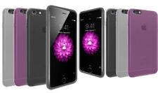 Fundas y carcasas color principal transparente de piel para teléfonos móviles y PDAs Apple
