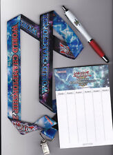 Yugioh 2017 World Championship Set Lanyard, Scorepad, & Pen OTS Celebration YGO