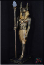 Ägyptische Lampe Stehlampe Anubis Pharao Skulptur Beleuchtung Kunstharz