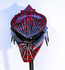 predator motorcycle helmet ship immediate light up insignia's spidey theme