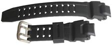 Men Military Black Silicone Rubber Pin Buckle Sport Wrist Watch Band Strap 18mm