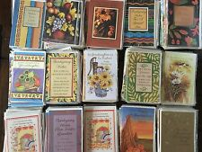 Wholesale Lot of 273 Assorted Thanksgiving Greeting Cards