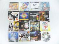 PLAYSTATION PS2 SEGA SATURN DREAMCAST PROMO DVD TRIAL DISC  LOT OF 16 SET