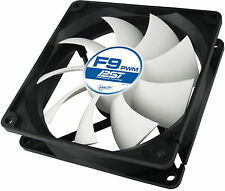 2 x Arctic Cooling F9 PWM PST 92mm Fan 1800 RPM (AFACO-090P0-GBA01) AC Artic