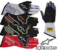 Alpinestars Tech 1-Z Race Gloves  FIA Approved, Oval Rally Autograss Racing