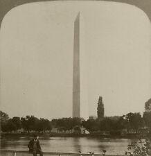 Underwood & Underwood Stereoview The Washington Monument, Washington, D.C. 1902