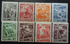 YUGOSLAVIA - WORKERS 1952/53, 1955 MI: 717 - 723, 760 MNH