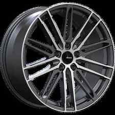 18x8 Advanti Racing Diviso 5x100mm +35 Machined Wheels Fits Sti Sedan Wrx Matrix