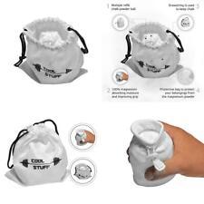CoolStuff Big White Gymnastics Chalk Powder Ball Sock and Protective Bag -.