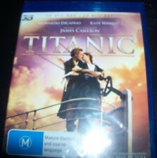 Titanic (Leonardo DeCaprio) (Australia Region B) 3D BLURAY  + BLURAY – New