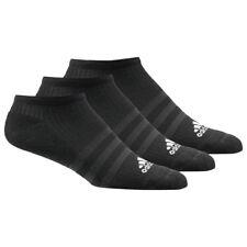 adidas 3-Stripe Sneakersocken schwarz 3 Paar kurze Strümpfe Sport Freizeit