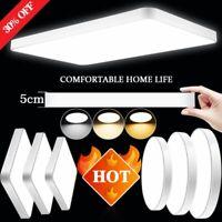 Ultraslim LED Deckenleuchte Dimmbar Badleuchte Deckenlampe Küche Wohnzimmer IP44