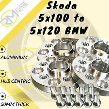 40mm 2x20mm ensanchamiento 4x100 57,1 distancia disco pista discos para VW BMW