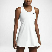Nike Court Dry Pure Women's Tennis Dress White Medium