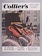 Collier's Magazine - January 5, 1952 ~~ West Point 150th Anniversary