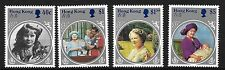 HONG KONG, 1985, LIFE & TIMES OF QUEEN MOTHER, SG 493-96  MNH SET,