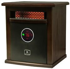 Indoor Portable Infrared Space Heater 1500 Watt Built in Thermostat Remote Contr