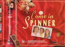 COME IN SPINNER - 2 x VHS BOX SET - PAL -NEW -Never played! -Original Oz release