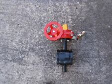 NEW Globe Fire Sprinkler Valve GLR300G Butterfly Valve  2 1/2