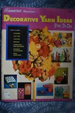 Vintage Decorative Yarn Ideas Fun to Do Hiawatha Handicraft